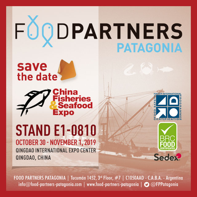 China Fisheires & SeaFood Expo 2019
